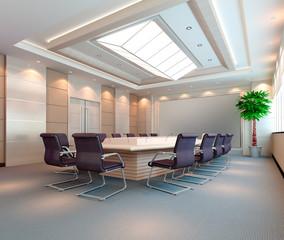 3d meeting room.