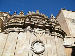 Detalles catedral de murcia