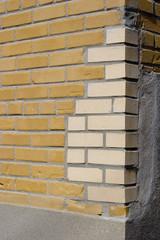Brick corner repair