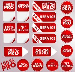 service, 100% pro