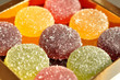 pâtes de fruits rondes - 29747016
