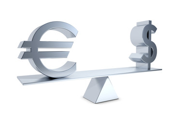 currency exchange rate euro dollar