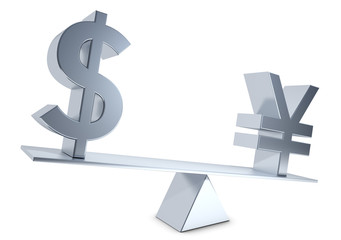 currency exchange rate dollar Yen Renminbi