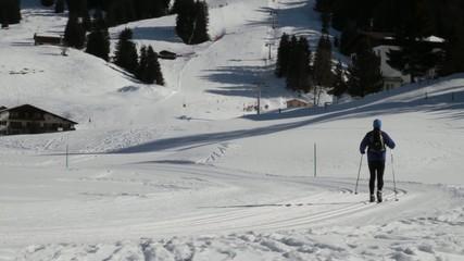 Skilanglauf in Parpan