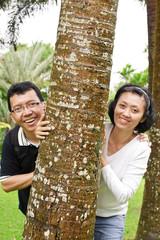 Mature ethnic spouse couple