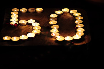 Kerzenbild 50