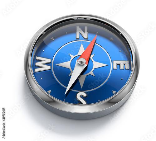 Leinwanddruck Bild Compass