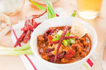 chili for meal
