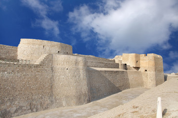 Northern portion of Bahrain fort