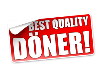 Best Quality Döner! Button, Icon