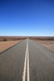 Outback Road Australia, Vanishing into the Desert