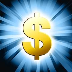 dollar symbol illustration