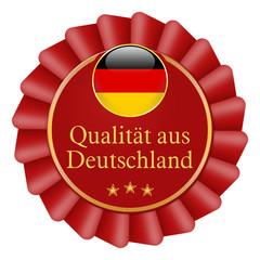 button schleife siegel qualität aus deutschland