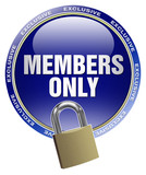 button link members only login