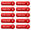 E-BUSINESS Web Buttons (add to cart e-shopping buy order online)