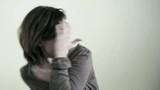 Sad/Despairing Woman, maybe victim of violence;  HD 720, H 264