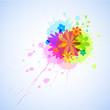 Flower burst - vector (eps10)