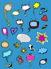 Vector Chat Bubbles