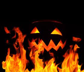 Pumpkin flames