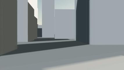 Durch die gesichtlosen Häuserblocks