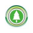 sapin arbre forêt nature logo picto web icône design symbole