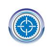 cible viseur tir but logo picto web icône design symbole