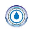 goutte eau élément vie logo picto web icône design symbole