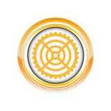 cible but objectif tir logo picto web icône design symbole