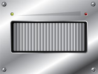 Metallic volume control design