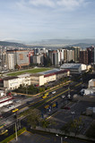 Fototapety Skyscrapers of modern Quito
