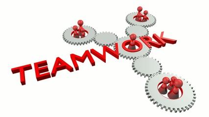 Teamwork Video (Rot und Weiss, Perspektive 1)