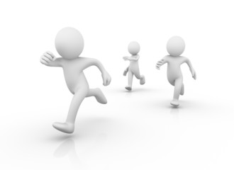 Runners / Running men