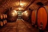 Fototapeta Eichenfässer alter Weinkeller Deutschland