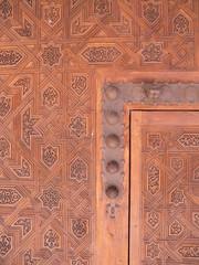 Holztür in der Alhambra