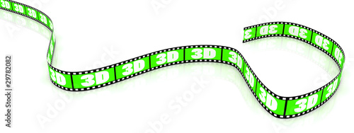 Colored 3D film