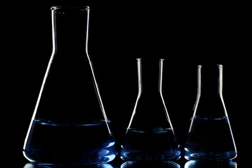 Flasks.