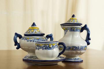 piezas de cerámica talaverana