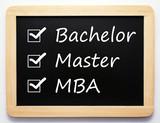 Bachelor / Master / MBA - Career Concept poster