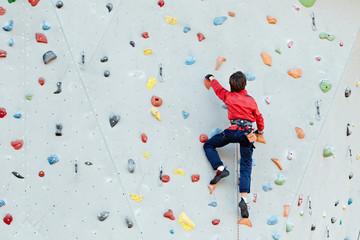 exercise climbing wall