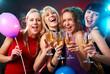 Leinwanddruck Bild - hen party