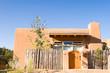 Adobe House Palisade Fence Santa Fe New Mexico USA