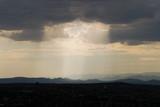 Shaft of Sunlight Jemez Mountains Santa Fe NM poster