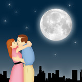 Moonlight Couple