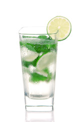 Classic Mojito Cocktail drink lime mint