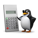If my calculations are correct says 3d penguin