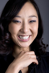 Asian Business Woman Portrait Smiling