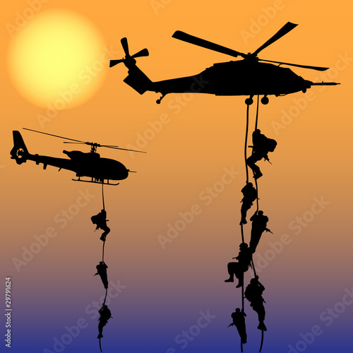 Helicopter landing - 29791624