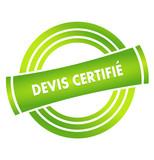 devis certifié sur vignette verte poster