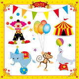 Fun circus set poster