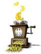 Geldvernichtungsmaschine